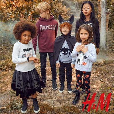 Straszna i urocza halloweenowa kolekcja dla najmłodszych w H&M!