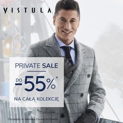 PRIVATE SALE w salonie VISTULA. Aż do -55%* na całą kolekcję!