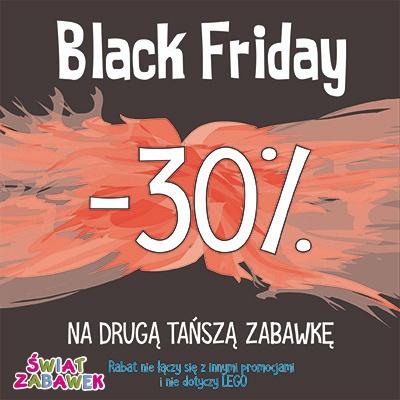 Czarny Piątek dla Świata Zabawek
