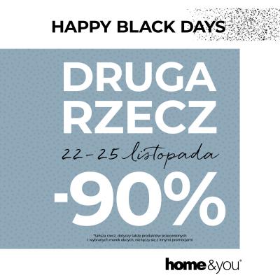 Happy BLACK DAYS w home&you