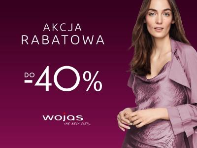 Rabaty do 40% w salonie Wojas