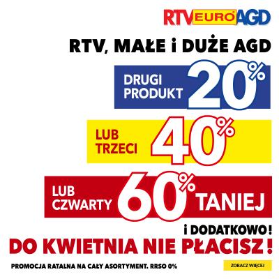 Promocja na RTV, MAŁE I DUŻE AGD