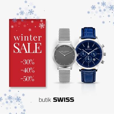 Winter Sale w butiku SWISS