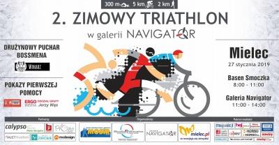 2. Zimowy Triathlon w Galerii Navigator