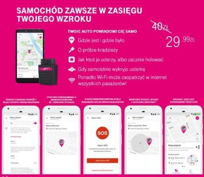 Smart Car - Promocja w T-mobile
