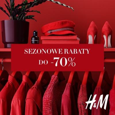 Sezonowe rabaty w H&M aż do 70%