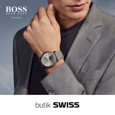 Zegarki Hugo Boss w butiku Swiss