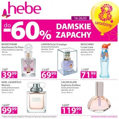DAMSKIE ZAPACHY do -60%