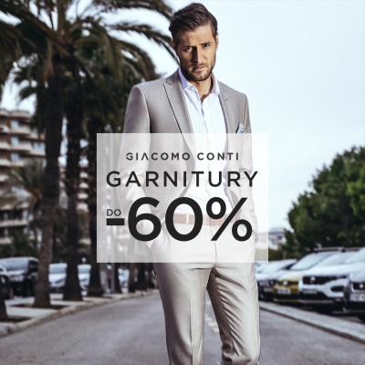 Garnitury do -60%