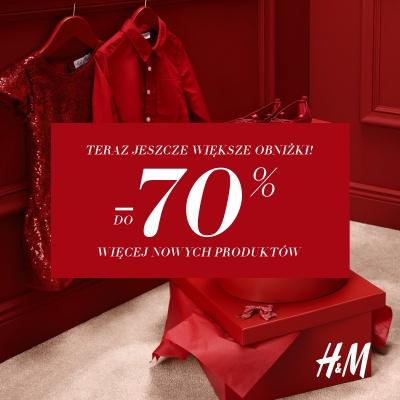 Więcej nowych przecenionych produktów w H&M!