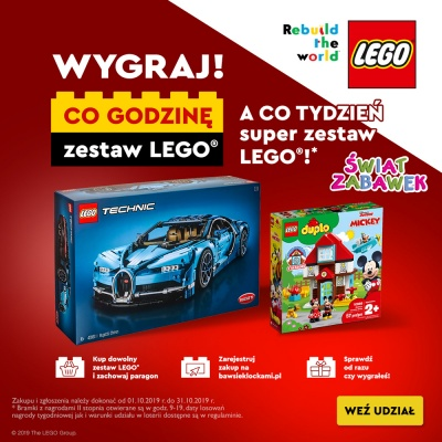 Lego Loteria w Świat Zabawek!
