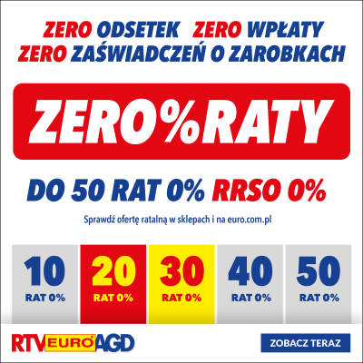 ZERO % RATY