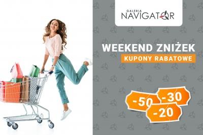 Galeria Navigator zaprasza na weekend zniżek!