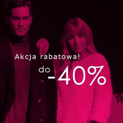 Akcja Rabatowa do - 40%