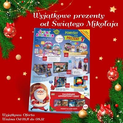 Wyjątkowe prezenty od Świętego Mikołaja !