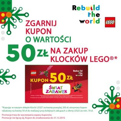Zgarnij kupon na zakup klocków LEGO!