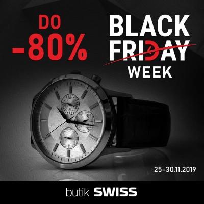 W butikach SWISS Black Friday trwa cały tydzień!