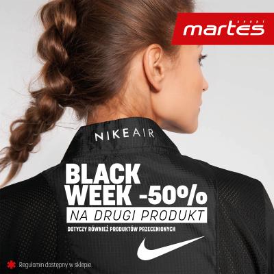 -50% na drugi produkt marki Nike