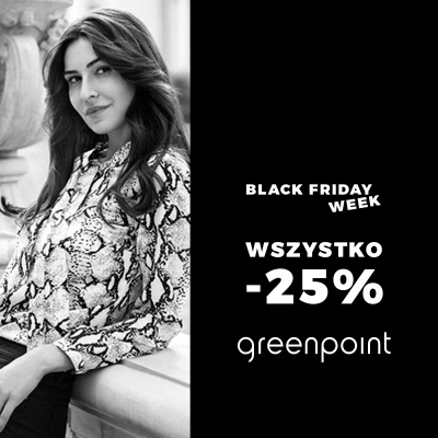 BLACK FRIDAY WEEK W GREENPOINT!