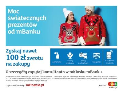 Moc świątecznych prezentów od mBanku!