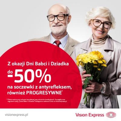 Dzień Babci i Dziadka w Vision Express