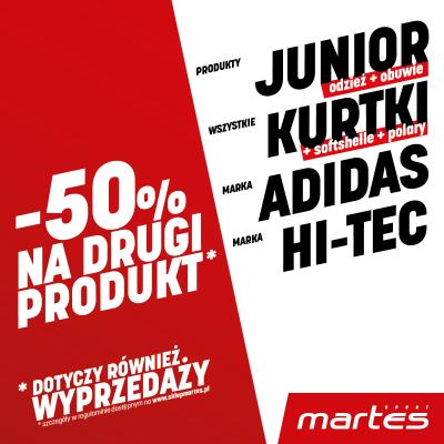 -50% NA DRUGI PRODUKT