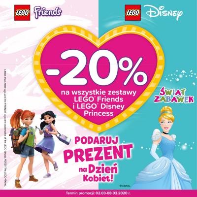 -20% na produkty LEGO
