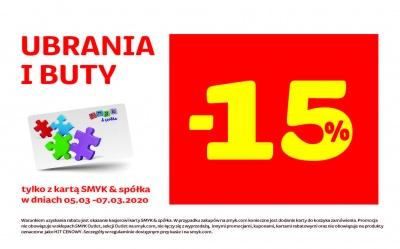 -15% w SMYK
