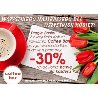 -30% na dowolną kawę dla każdej z Pań!