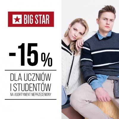 -15% DLA UCZNIÓW I STUDENTÓW!