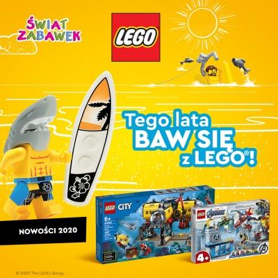 Tego LATA baw się z LEGO !