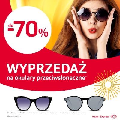 WYPRZEDAŻ na okulary przeciwsłoneczne!