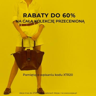 RABATY NAWET DO 60 %