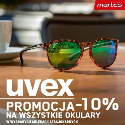 Okularki marki UVEX ! Promocja -10%