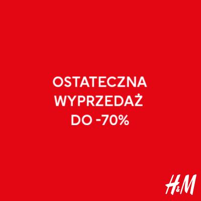 OSTATECZNA WYPRZEDAŻ DO -70%!