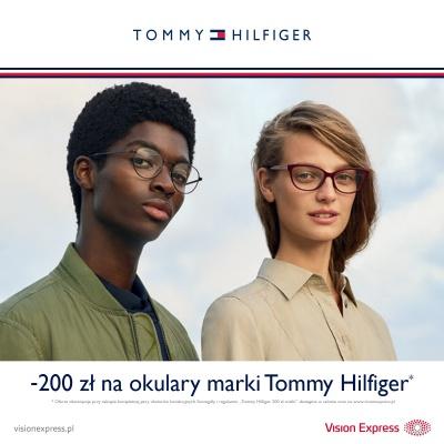- 200 zł na kompletną parę okularów Tommy Hilfiger