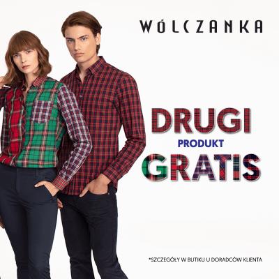 Drugi produkt GRATIS w butiku WÓLCZANKA!