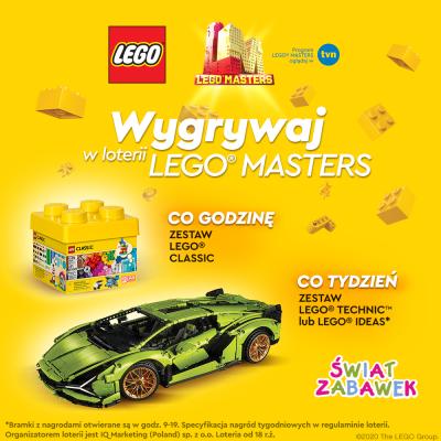 Kup dowolny zestaw klocków Lego i weź udział w loterii