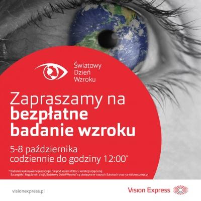 Bezpłatne Badanie Wzroku w Vision Express