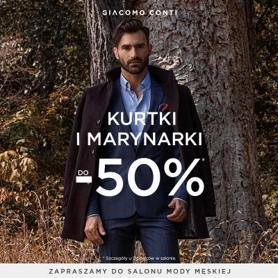 Kurtki i marynarki do -50%!