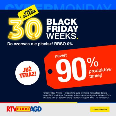 Na Black Weeks w Euro