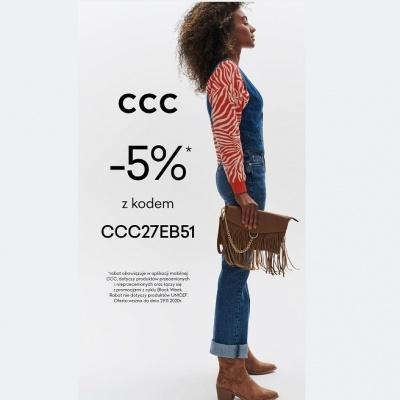 -5% rabatu na zakupy online w CCC