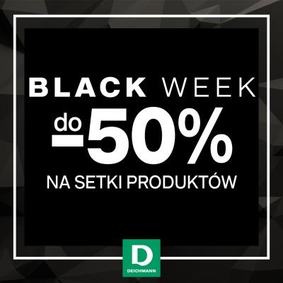 Black WEEK w Deichmann, aż do 50% na setki produktów!