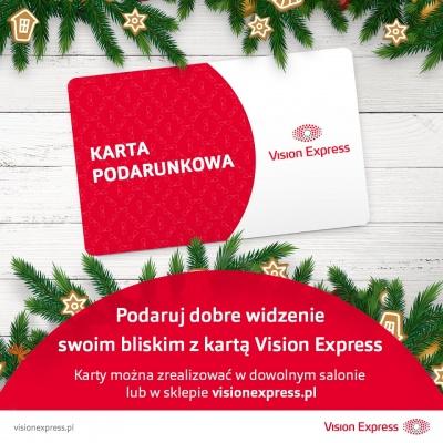 Karta podarunkowa Vision Express!