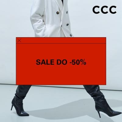 SALE do -50% w CCC!