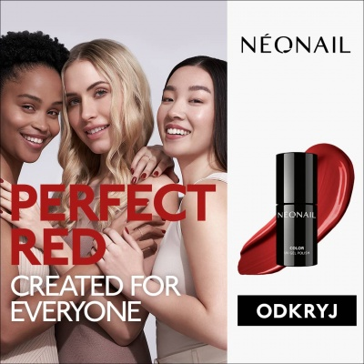 Nowy kolor - Perfect Red od NEONAIL