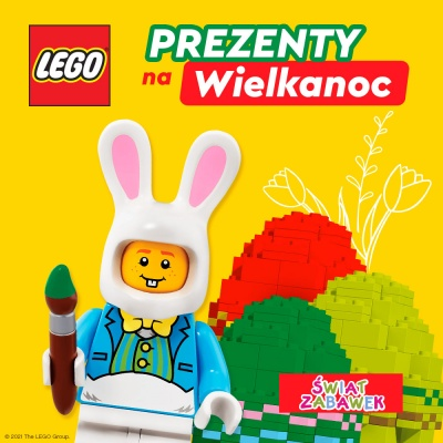 20 zł rabatu na zakup klocków Lego za 100 zł.