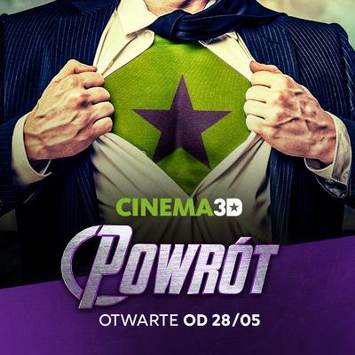 Powrót CINEMA3D!