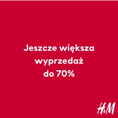 W H&M rabaty sięgają nawet 70%