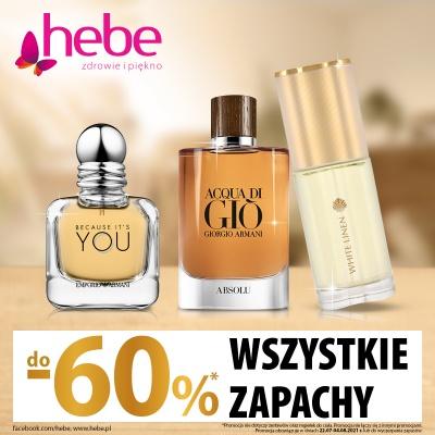 Zapachy -60% HEBE